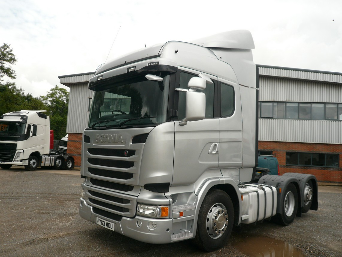 SCANIA R440 HIGHLINE 6x2 TAG AXLE TRACTOR UNIT 2014 PY63 MOU - Fleetex