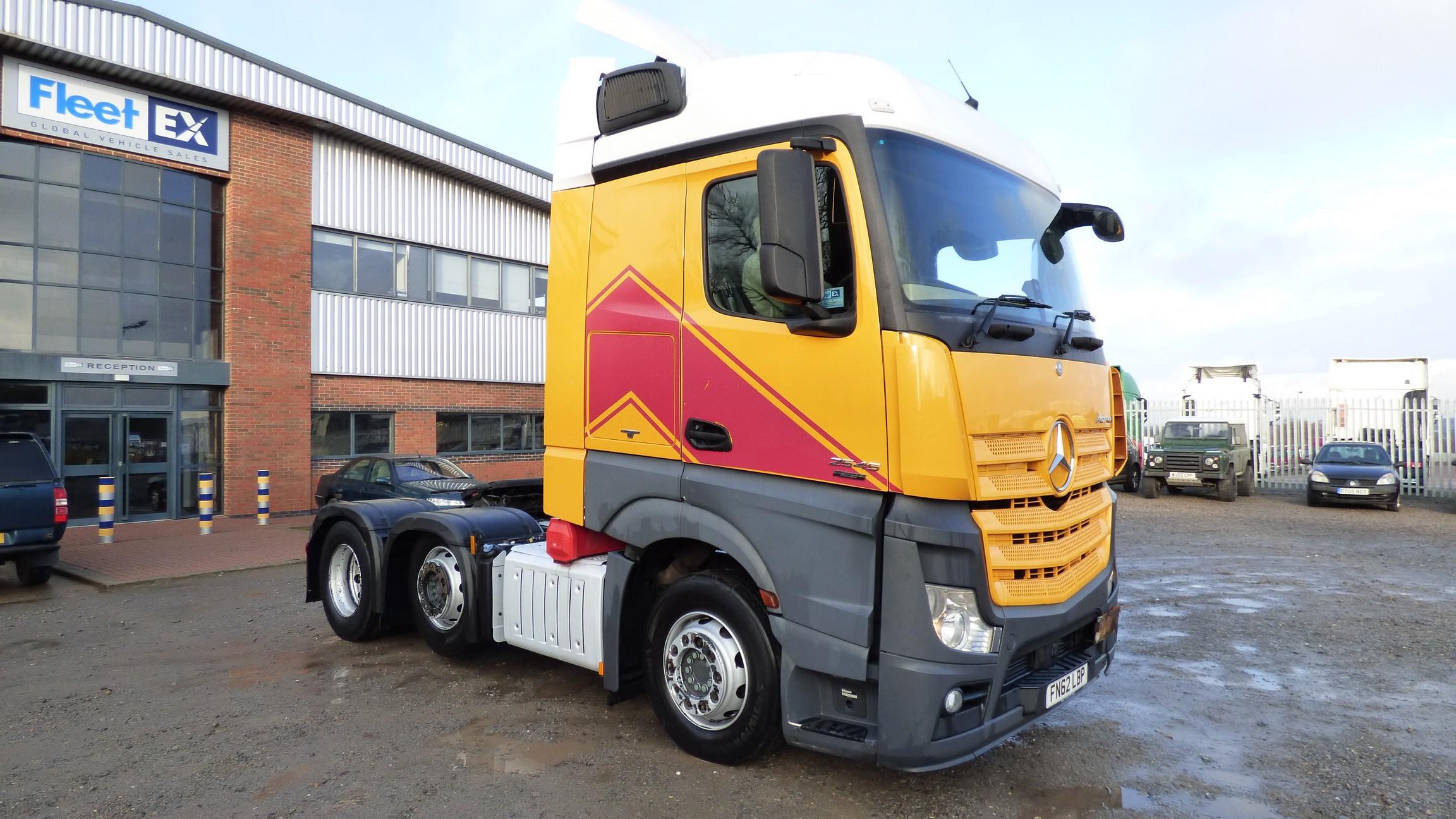 Mercedes Actros 2545 Streamspace 6x2 Tractor Unit 2012